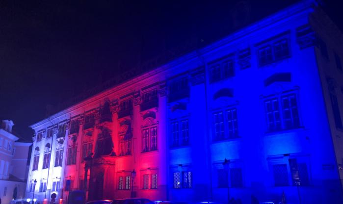 Statické architektonické nasvícení - Citycolor