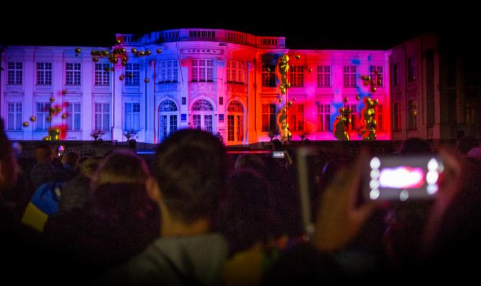 Videomapping Praha