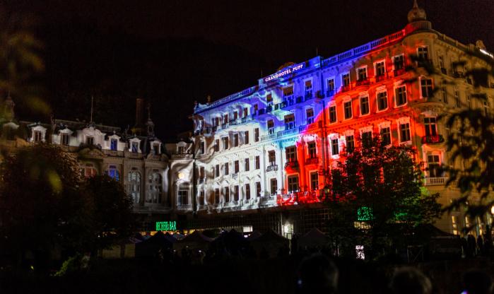 Videomapping Karlovy Vary