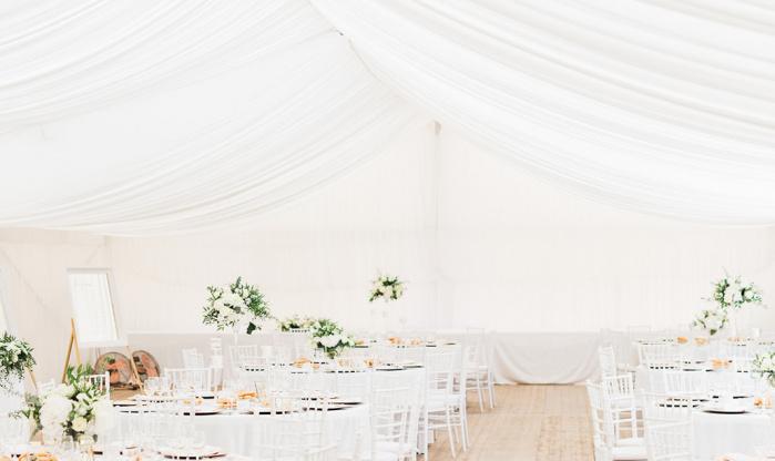 VIP svatební stan