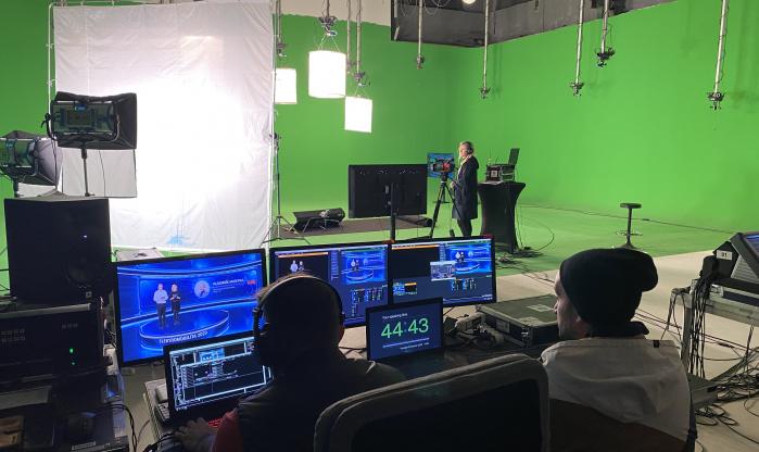 Virtuální studio - konference