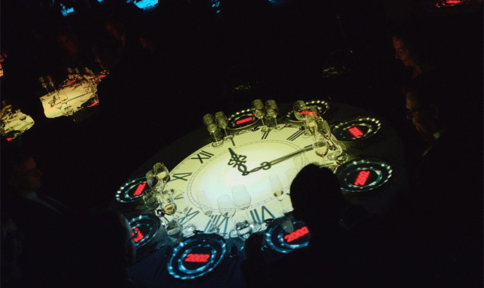 Table mapping projection Prague