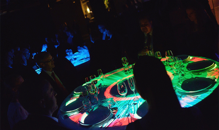 Table mapping projection