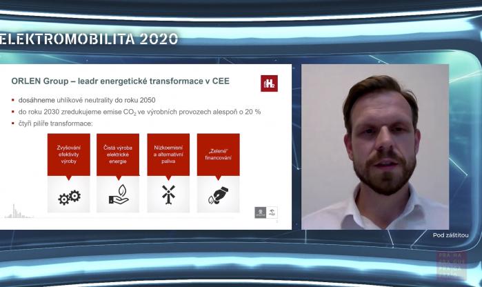 Virtuální studio - Elektromobilita 2020