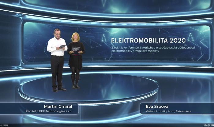 Virtuální konference - Elektromobilita 2020